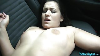 Cindy Loarn in Bubble Butt Babe Fucked in a Car - PublicAgent