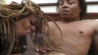 Tough Tony T Gets His Cock Sucked By Tyra Butts