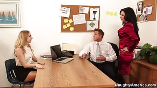 Veronica Avluv & Bill Bailey in Naughty Office