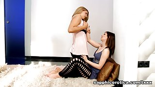 Judy & Rikki in Satisfied Lovers - SapphicErotica