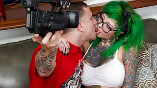 Sydnee Vicious in Sydnee Vicious POV, Scene #01 - BurningAngel